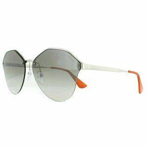 Prada Square Sunglasses Grey Gradient Mirror Lens